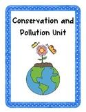 Conservation & Pollution Unit! {Enrichment, Creative Probl