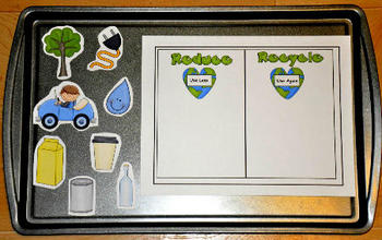 Earth Day Cookie Sheet Activities