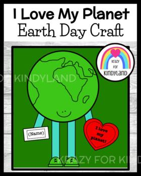 Earth Day Craft: I Love My Planet