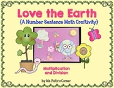 Earth Day Craftivity: Multiplication and Division