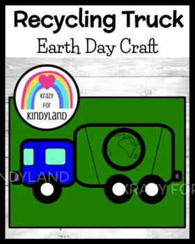 Earth Day Craft: Recycling Truck