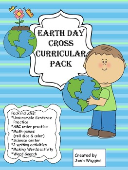 Earth Day Cross Curricular Pack!