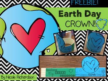 Earth Day Crown ~ FREEBIE!
