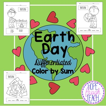 Earth Day Differentiated Color By Sum