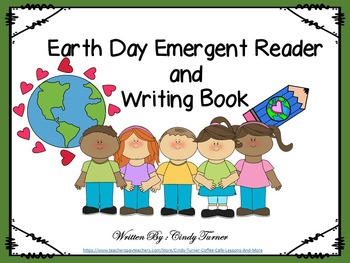 Earth Day Emergent Reader and Writing Book