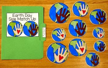 Earth Day File Folder Games
