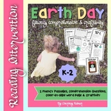 Earth Day Fluency Passages, Comprehension Questions and Wr