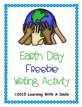 Earth Day ~ Freebie ~ Writing Activity