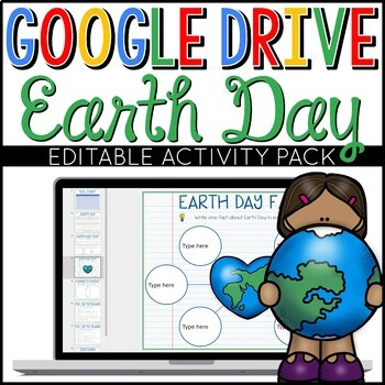 Earth Day Google Drive Digital Interactive Activity Pack (
