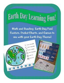 Earth Day Integrated Science, Literacy, and Math Games, Ce