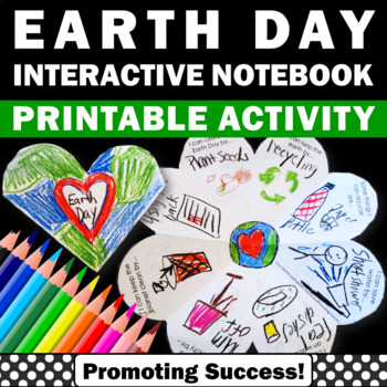 Earth Day Foldable activity