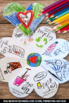 Earth Day Interactive Science Notebook Writing and Colorin