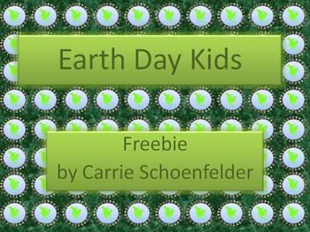 Earth Day Kids Freebie