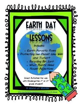 Earth Day Lessons