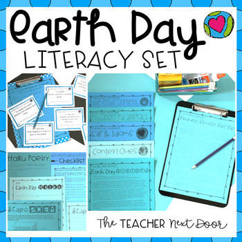 Earth Day Literacy Set for 4th - 5th Grade
