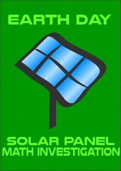 Earth Day Math Investigation: Solar Panels