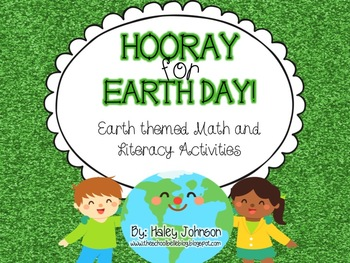 Earth Day Math and Literacy Center Activities!