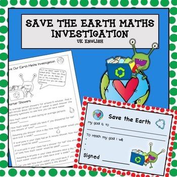 Environmental Maths Problem Solving NO PREP AUS UK