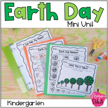 Earth Day Mini Pack: Earth Themed Activities for Kindergarten