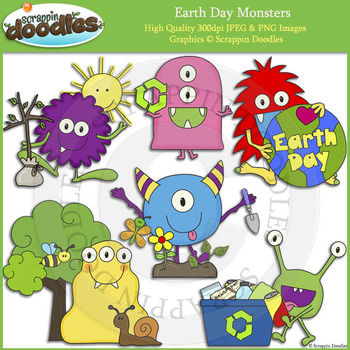 Earth Day Monsters