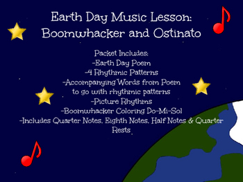 Earth Day Music Lesson: Boomwhacker and Ostinato