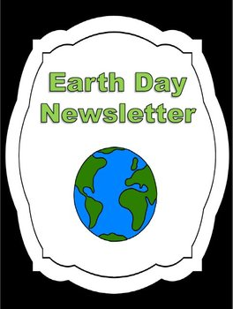 Earth Day Newsletter Project