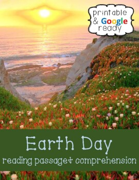Earth Day Nonfiction Close Reading Passage