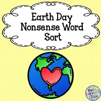 Earth Day Nonsense Word Sort