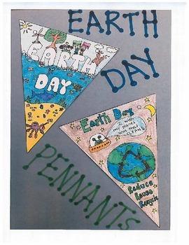 Earth Day Pennants