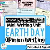 Earth Day Persuasive Writing Mini-Unit