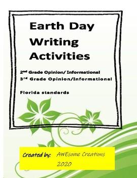 Earth Day Persuasive Writing common core
