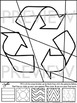 Earth Day Pop Art Coloring Sheets