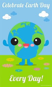 Earth Day Poster 8 1/2 x 14