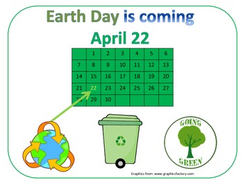 Earth Day Poster - FREE