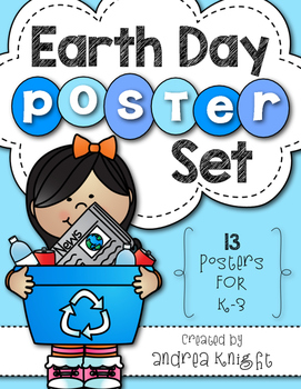 Earth Day Poster Set {13 Posters for K-3}