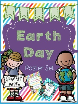Earth Day Poster Set