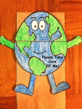 Earth Day Puppet