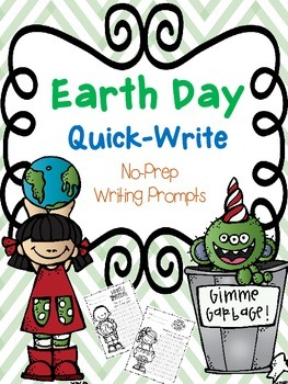 Earth Day Quick-Write Activity