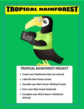 The Great Kapok Tree-The Rain Forest Animal Project-K-3 Wr