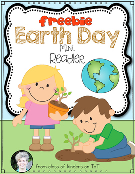 Earth Day Reader {Freebie} for Kindergarten and First Grade!