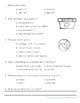 Earth Day Reading Comprehension with Writing Extension Fir