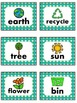 Earth Day Recycling Math and Literacy Centers - Kindergart