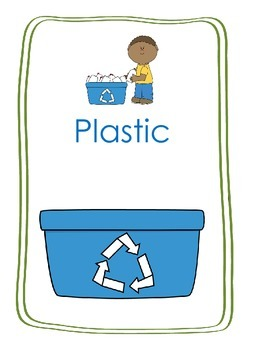 Earth Day Recycling Sort Center Game