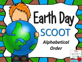 Earth Day SCOOT Alphabetical Order