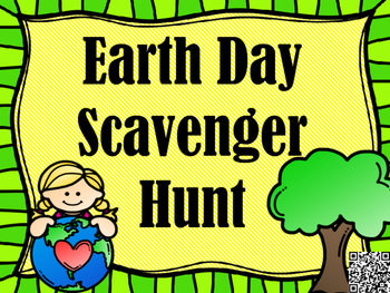 Earth Day Scavenger Hunt - Read and Answer