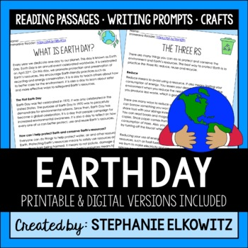 Earth Day Activities and Crafts