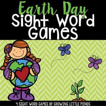 Earth Day Sight Word Games Featuring the Dolch Words