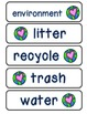 Earth Day Spelling Word Cards- FREEBIE!