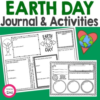 Earth Day Think Book Guided Journal