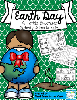 Earth Day Trifold Brochure and Bookmarks
